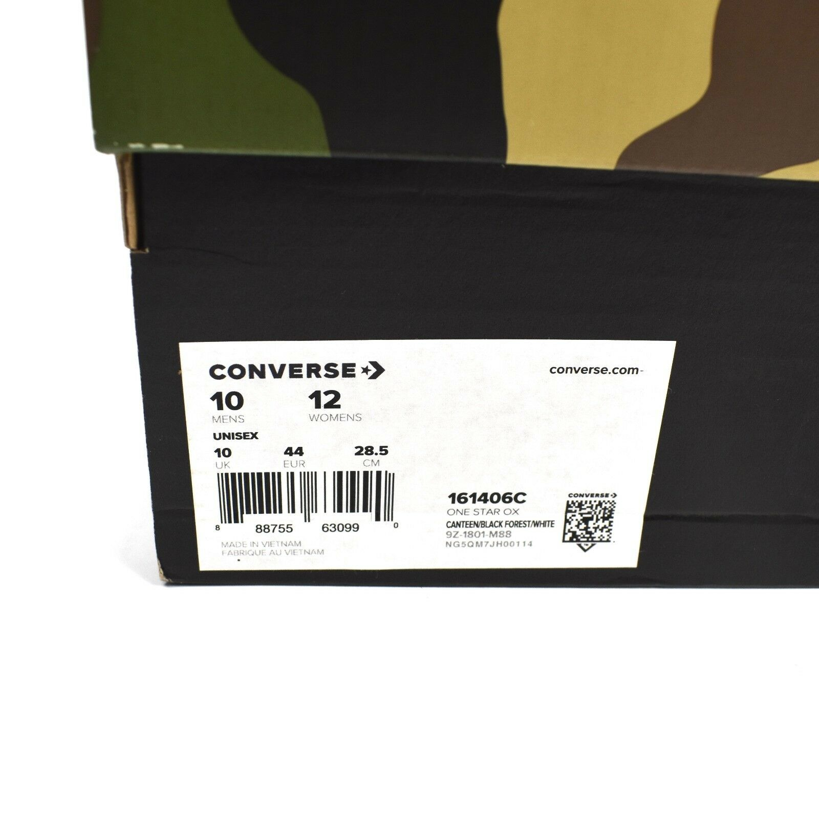 NWT Converse Sneakersnstuff SNS Camo Patchwork One Star Men's Sneakers AUTHENTIC