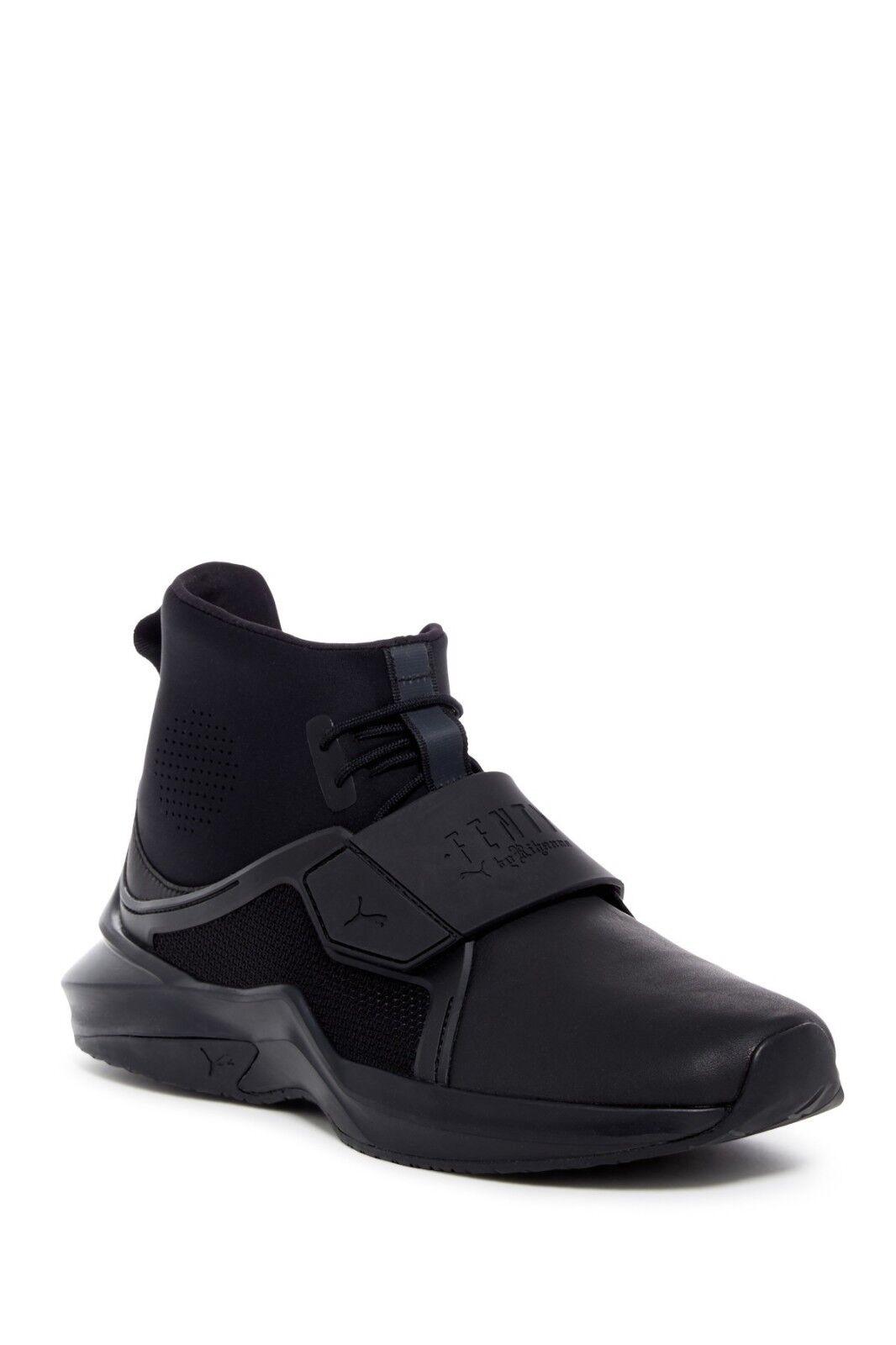 NEW FENTY FENTY PUMA by Rihanna Hi Trainer Sneaker BLACK  190 SZ 8