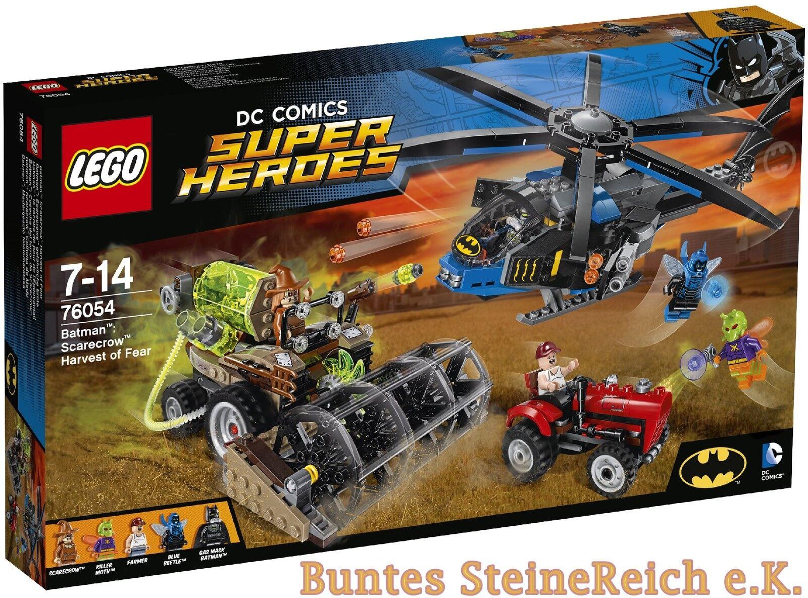 LEGO ® Batman ™  76054 SCARECROWS ™ dangereux récolte & 0. - expédition & NOUVEAU & NEUF dans sa boîte