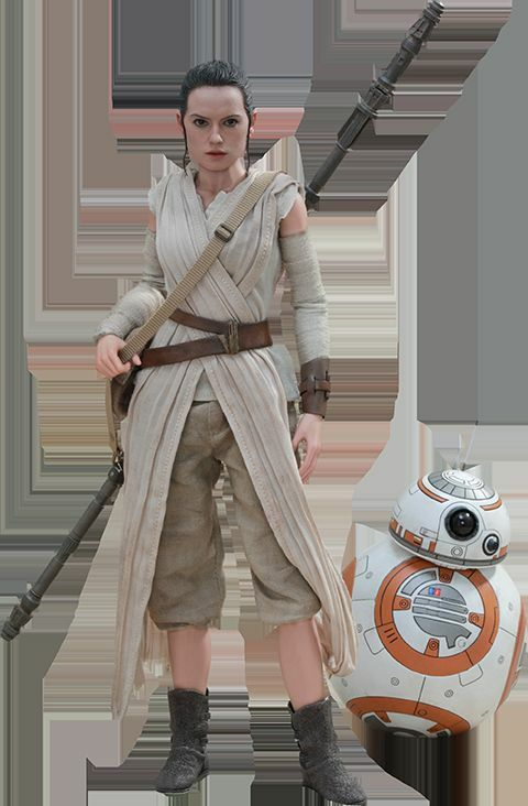 Hot Toys - Star Wars The Force Awakens Rey Rey Rey & BB-8 12  figure set f838ae