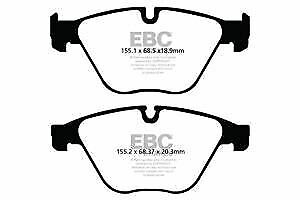 DPX2103 EBC Ultimax Front Brake Pads fit 518 520 523 525 528 530 530 xDrive 535