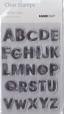 ALPHA - 13TH HOUR - Kaisercraft Clear Stamp Set