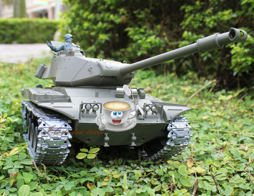 HengLong 1 16 Scale Upgraded Metal Version USA Walker Bulldog RC Tank 3839-1