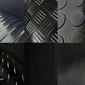 7-9-m-Anti-Rutsch-Matte-3mm-Gummi-Matten-Noppen-Matte-Feinriefen-Boot-Haenger
