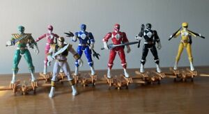 Mighty Morphin Power Rangers (2010) 7 Figure Set