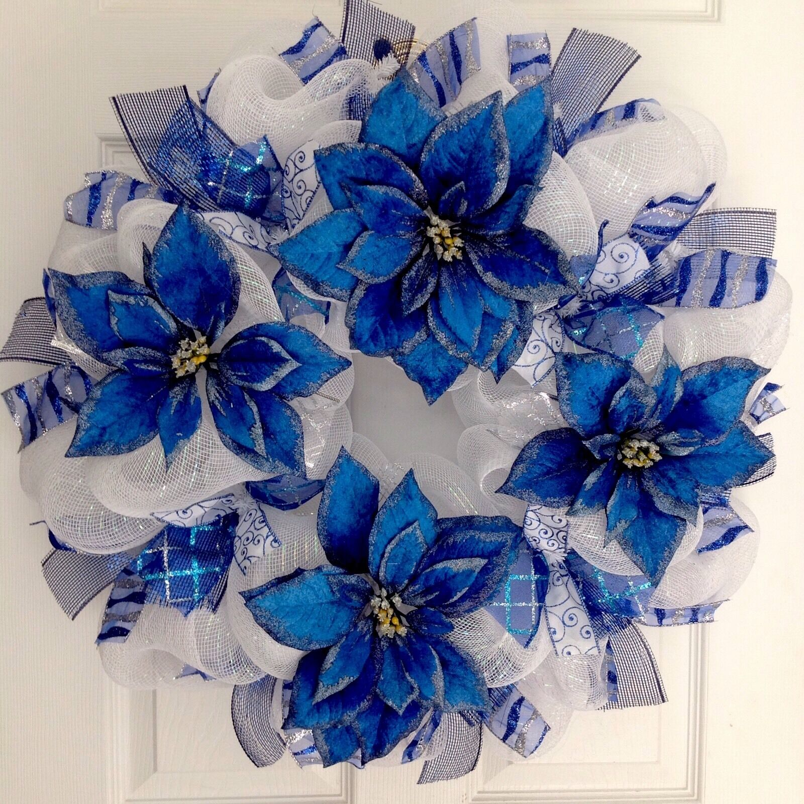 Blue Christmas Wreaths | Christmas Wikii