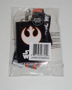 Star-Wars-Rebel-Pilot-Costume-Lanyard-Alliance-Starbird-PVC-Charm-Badge-ID-NEW