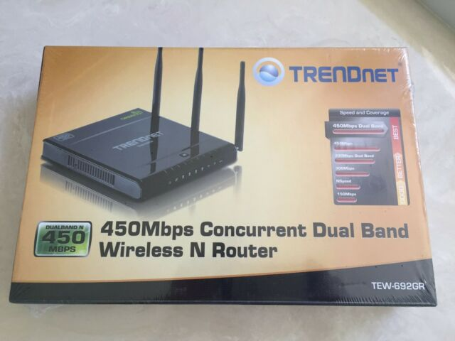 TRENDnet TEW-692GR Router Windows 8