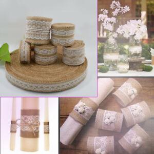 5m-Natural-Jute-Hessian-Burlap-Tape-Ribbon-Lace-Trim-Craft-Rustic-Wedding-Strap