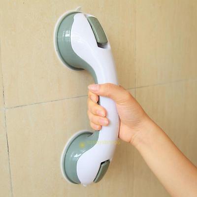 Bathroom Shower Tub Room Super Grip Suction Cup Safety Grab Bar Handrail Handl #