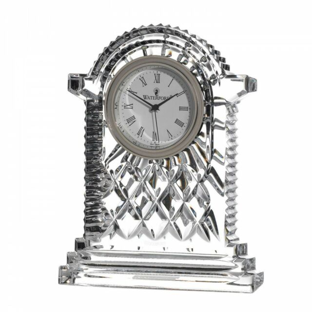 Waterford Crystal Lismore Carriage Clock 17.5cm