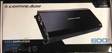 Lightning Audio Rockford Fosgate L-4300 Amplifier 600 Watt 4 Channel Amp L4300