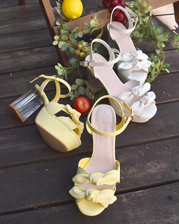 Liz Lisa Cinta Talón Sandalias de Cinta Lisa de Doble-Transparente (Japón Kawaii Lolita) abd3ce