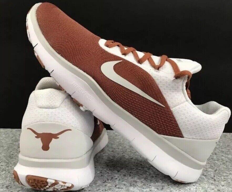 NWT Nike Free Trainer V7 Texas Longhorns Burnt orange Size