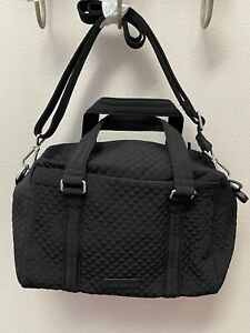 Vera-Bradley-Iconic-100-Handbag-Classic-Black-24352-081-NWT-MSRP-110
