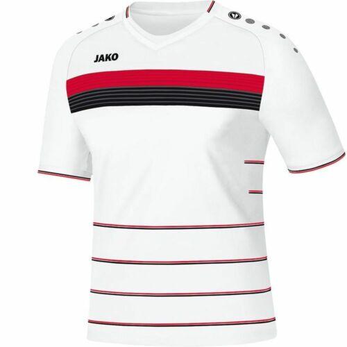 Jako Fußball Trikot Champ KA Herren Kurzarmshirt weiß rot schwarz