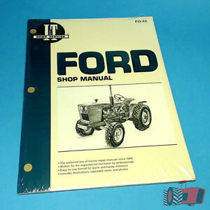 Details about FO44 Workshop Manual Ford 1300 1700 1900 Tractor & 1210 1310  1510 1710 1910 2110