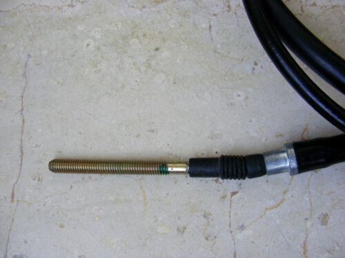 00F00904431 DERBI Moped Bremszug 170cm Lang mit Gewinde 6mm Art