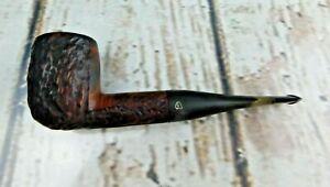 "Vintage Smoking Pipe  ""ALPHA"" (CUSTOMCRAFT) Made In ISRAEL Unique Carvings"