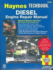 FORD 6.9, 7.3 LITER TRUCKS & GM  5.7, 6.2, 6.5 LITER  DIESEL ENGINE SHOP MANUAL