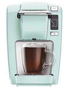 New Keurig K15 Mini Plus Oasis Color Coffee Maker Single Serve