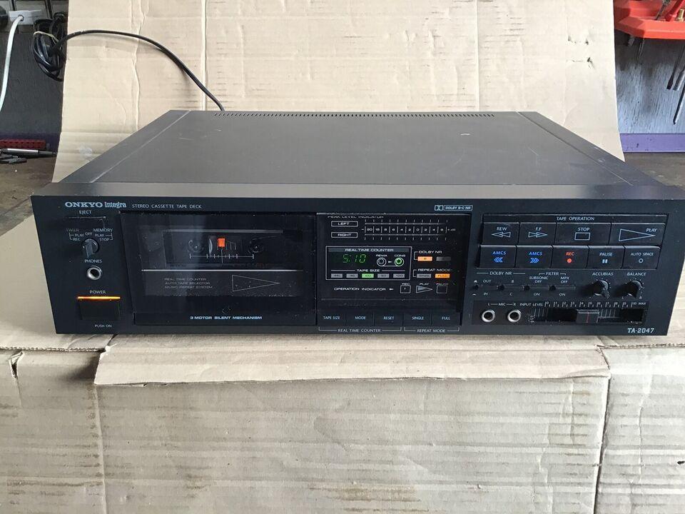 Båndoptager, Onkyo, TA-2047