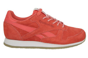 Reebok-Classic-CL-Lthr-Crepe-Sail-Away-Sizes-3-7-5-Coral-RRP-70-BNIB-BD3016