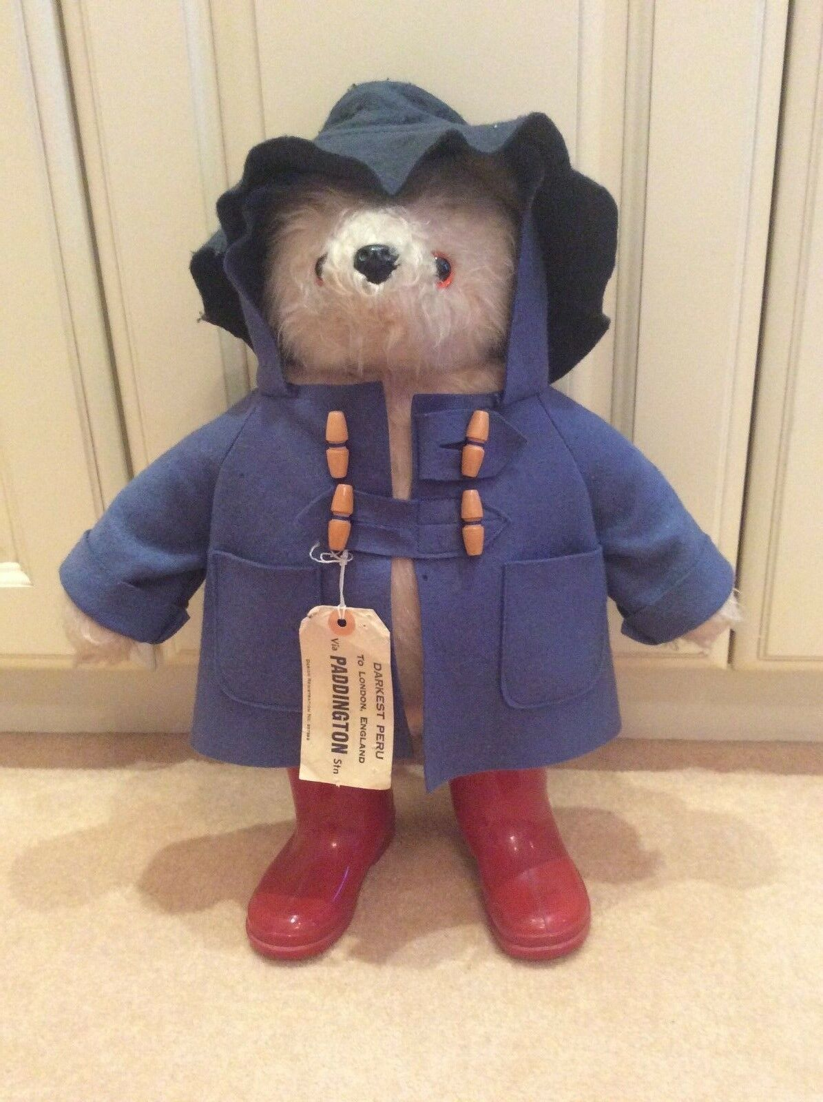 Gabrielle Designs Vintage Paddington Bear - Very Collectable