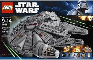 NEW 2011 LEGO 7965 STAR WARS MILLENNIUM FALCON BUILDING ...