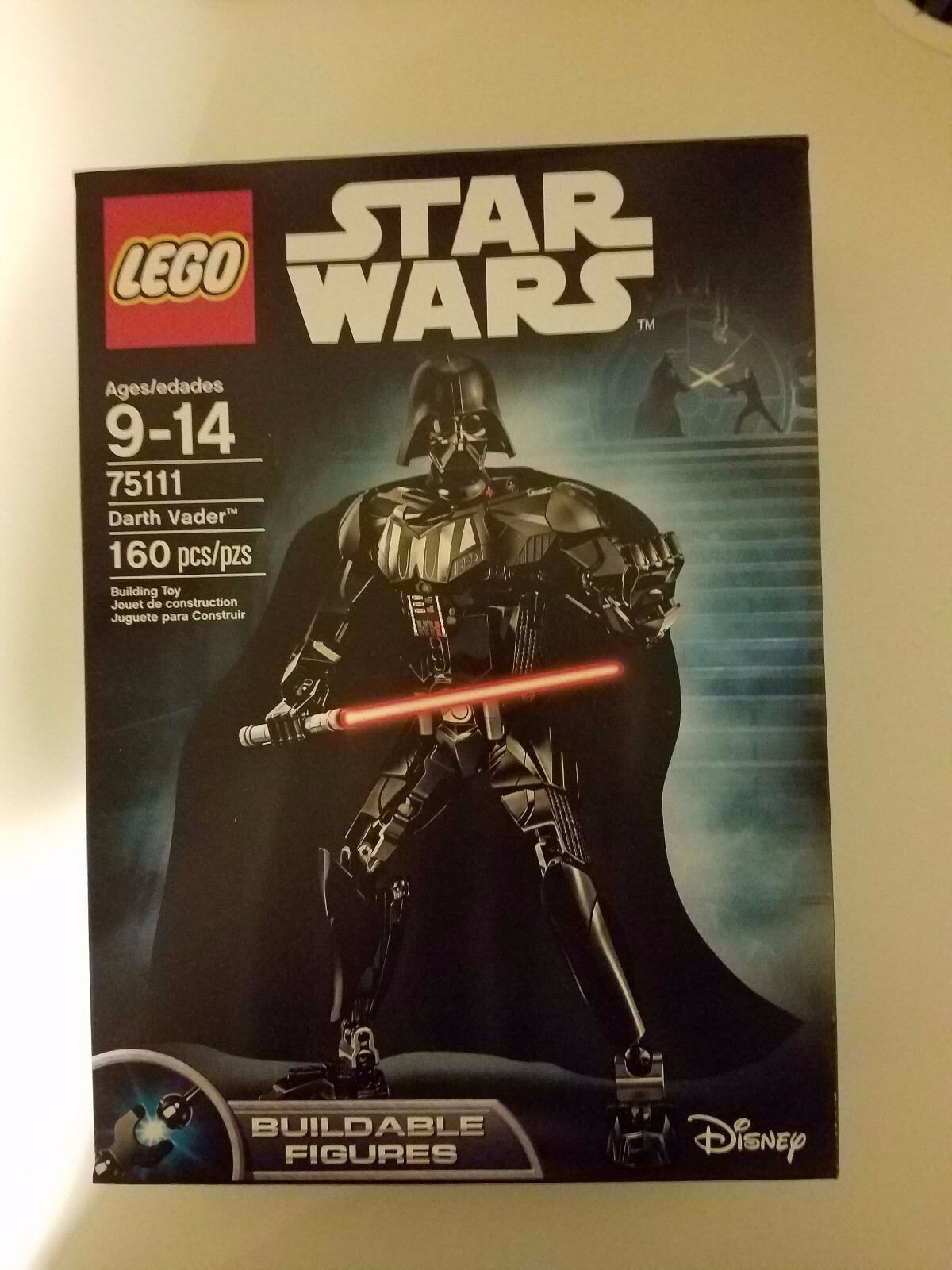 LEGO SET STAR STAR STAR WARS DARTH VADER 75111 BUILDABLE FIGURES 160 pcs HARD TO FIND 12da98
