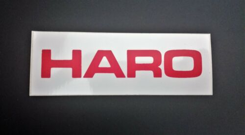 Competition NOS HARO Sticker BMX Old School Freestyle Vintage