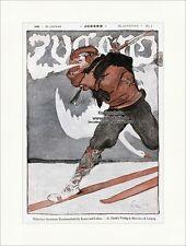 Titelseite der Nummer 4 von 1898 Fritz Erler Schwan Langlauf Ski Jugend 3107