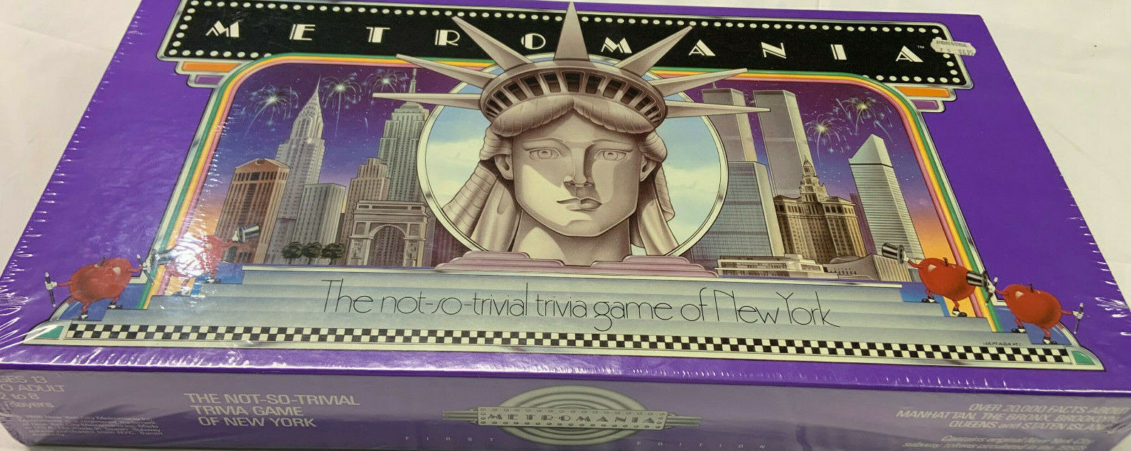 Metromania Trival Game of New York-FACTORY SEALED