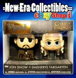 Funko VYNL 2-Pack Game of Thrones Jon /& Daenerys Vinyl Figures 10cm