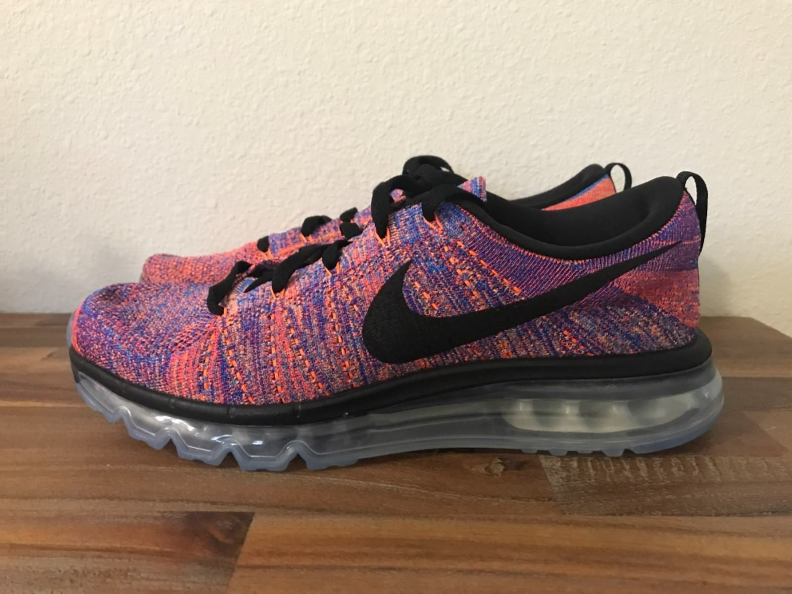 Nike Flyknit Air Max  Multi-Color 620469-404 Sz 9.5, 10.5, 11.5