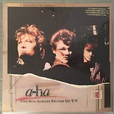 "A-HA - The Sun Always Shines On TV - 12"" Single (Vinyl LP) Promo"