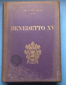 SAC-F-VISTALLI-BENEDETTO-XV-CON-PREF-CARD-MASTRANGELO-ROMA-1928-L3604