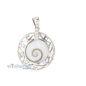 Shivaauge-Shiva-Auge-Auge-von-Naxos-Anhaenger-Amulett-Talisman-925-Silber-sas8