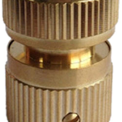 Brass Auto Water Guide Quick Fit Female HoseAipe Connector.Hoselock Clip1//2/'/' UK