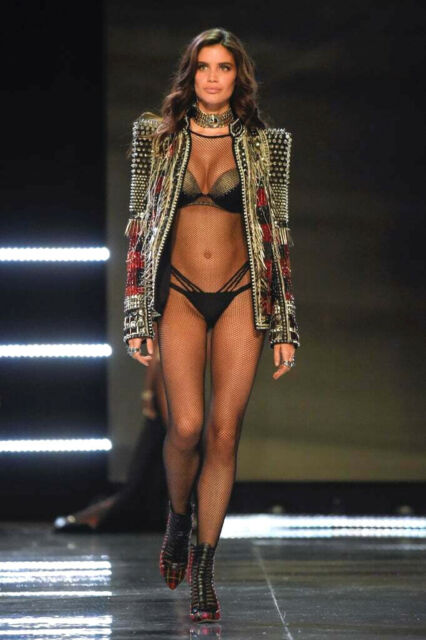 Balmain Victorias Secret Fashion Show Shanghai 2017 Strappy Cheeky Panty SMALL