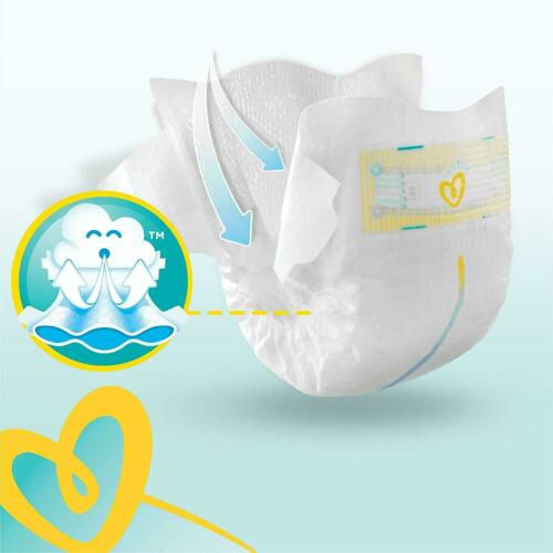 144-Count Pampers Premium Protection Softest Comfort Nappies Jumbo Pack-Size 1