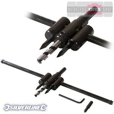 Silverline 447132 réglable cercle Schneider 30-120 mm