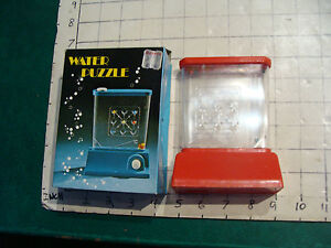 Vintage WATER PUZZLE in box, smaller scale, purchasd in 1977, UNUSED