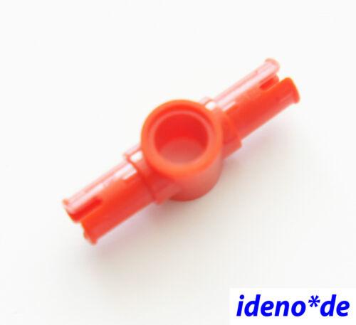 CONNETTORE PIN con pinloch ROSSO 87082 Red 6168687 NUOVO Tecnologia LEGO TECHNIC 1 PZ