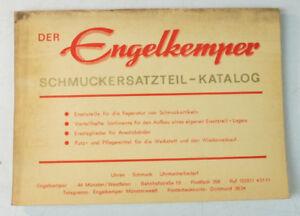 Der Engelkemper Schmuckersatzteil Katalog Ca 1967 Ansatzbänder Pflege B-11141