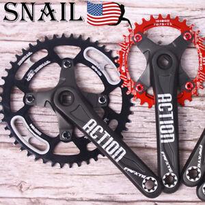 US-SNAIL-30-52t-104bcd-Crankset-Crank-set-MTB-Road-BMX-Bike-Sprocket-Chainring