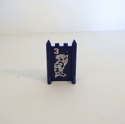 1975 Stratego Board Game Parts Army Piece #4 BLUE MAJOR