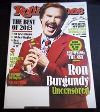 Rolling Stone Issue 1198 1199 Jan 2014 Best of 2013 music records Ron Burgundy