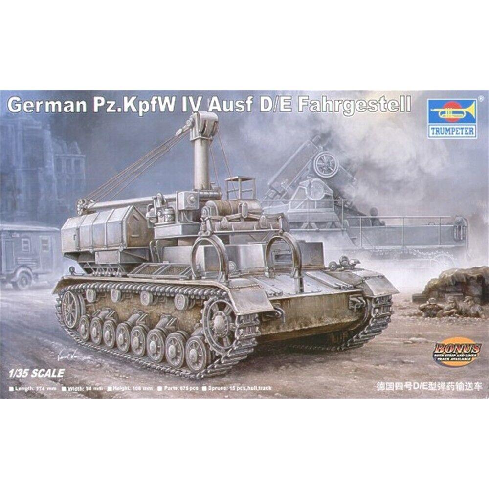Trumpeter 00362 1 35 German Panzerkampfwagen Iv D e Fahrgestell - Pzkpfw Ausf