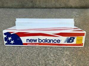 NEW-BALANCE-RARE-VINTAGE-80s-90s-Shoe-Shelf-Shelves-Display-for-Slat-Walls-USA
